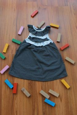 Ảnh số 7: Váy BG bèo cổ 3 tầng - Giá: 1.000