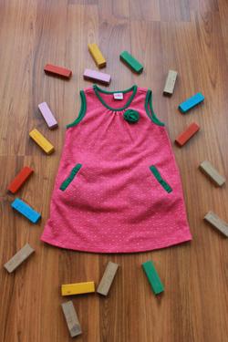 Ảnh số 20: Váy len hồng - Giá: 1.000