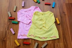 Ảnh số 23: Áo váy thêu bướm - Giá: 1.000