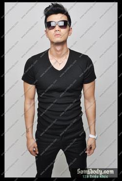 Ảnh số 78: áo thun cổ tim - Giá: 120.000