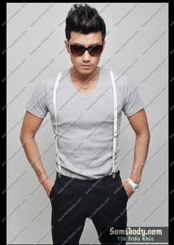 Ảnh số 80: áo thun cổ tim - Giá: 120.000