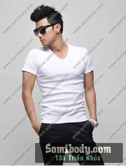 Ảnh số 86: áo thun cổ tim - Giá: 120.000