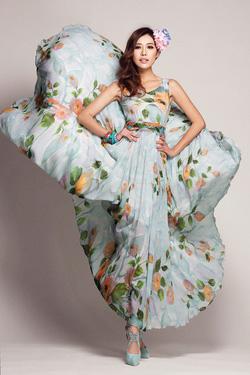 Ảnh số 2: Váy maxi Ladyroy - 0114 - Giá: 470.000
