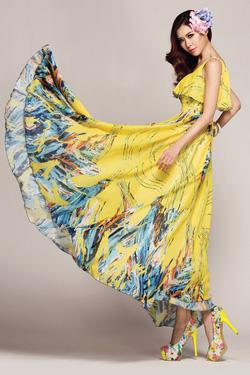 Ảnh số 13: Váy maxi Ladyroy - 1314 - Giá: 420.000