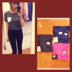 Ảnh số 18: Áo phông Pink hàng dư xịn đầu mùa nha. Chất cotton mềm, cực đẹp nhé, dáng của Pink rất trẻ trung thì ai cũng bít ùi naz  Giá siu rẻ: 150k Sz: xs s m - Giá: 1.000