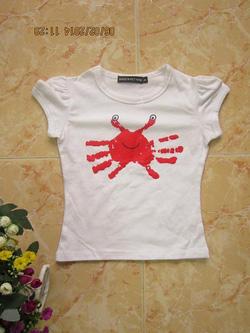 Ảnh số 3: Áo phông con cua - Giá: 10.000