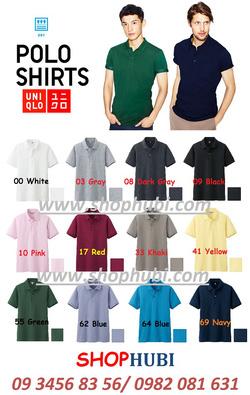 Ảnh số 54: Áo phông Polo công nghệ Dry khô,thoáng Uniqlo Nhật 2014 - Giá: 490.000