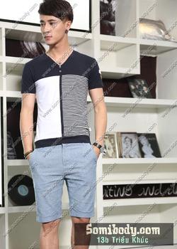 Ảnh số 79: áo phông có cổ - Giá: 120.000