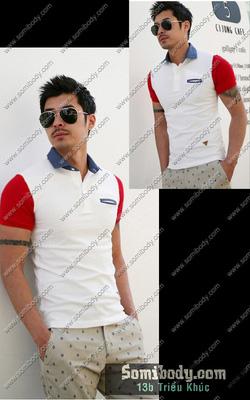 Ảnh số 92: áo phông có cổ - Giá: 150.000
