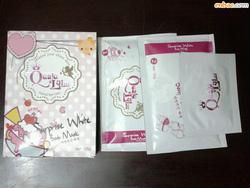Ảnh số 10: Ủ trắng siêu tốc QUALU - LALU Surprise White Body Mask - Giá: 170.000