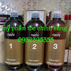 Ảnh số 81: bộ phục hồi tóc với công nghệ Colllagen Nashi Phyto - Giá: 3.100.000