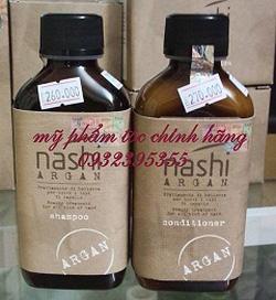 Ảnh số 89: Gội xả nuôi dưỡng phục hồi tóc Nashi argan 200ml - Giá: 550.000