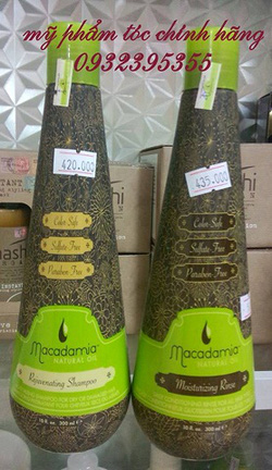 Ảnh số 19: Gội xả trẻ hóa tóc  Macadamia 300ml - Giá: 830.000
