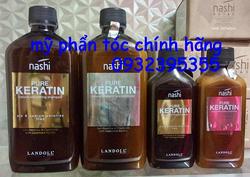 Ảnh số 1: Gội xả Nashi keratine co tóc thẳng hoặc khô xơ 500ml - Giá: 870.000