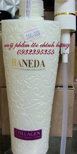 Ảnh số 10: Hấp dưỡng phục hồi tóc Haneda Collagen 500ml - Giá: 500.000