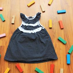Ảnh số 66: Áo váy bèo ngực 3 tầng - Giá: 1.000