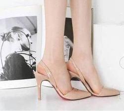 Ảnh số 92: Giày cao gót da bóng mũi nhọn_CG01 - Giá: 280.000
