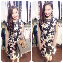 Ảnh số 95: Váy hoa viền da Zara TQXK - Giá: 350.000