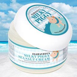 Ảnh số 9: Milky Piggy Sea Salt Cream -Kem dưỡng trắng sữa heo và muối biển - Giá: 200.000
