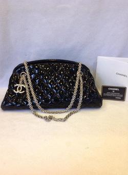 Ảnh số 6: MS TG6 : Túi Chanel da bóng đen, xích vàng, mới 99% - Giá: 1.000