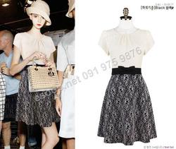 Ảnh số 83: B139 - Váy liền Hàn Quốc dáng xòe - Giá: 1.700.000