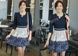 Ảnh số 79: B141 - Váy liền Hàn Quốc dáng xòe - Giá: 1.630.000