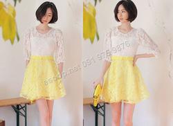 Ảnh số 69: B149 - Váy liền ren Hàn Quốc dáng xòe - Giá: 2.120.000