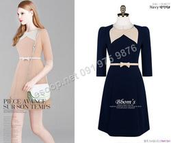 Ảnh số 90: B155 - Váy liền Hàn Quốc dáng A set Belt - Giá: 1.720.000