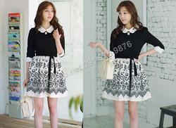 Ảnh số 92: B158 - Váy liền Hàn Quốc dáng xòe - Giá: 2.140.000