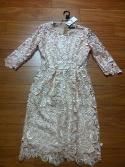 Ảnh số 65: Váy ren sò be hồng - Giá: 650.000