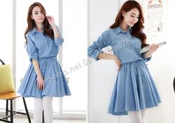 Ảnh số 54: B163  - Váy liền Hàn Quốc dáng xòe - Giá: 1.870.000