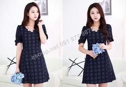 Ảnh số 45: B170 - Váy liền Hàn Quốc dáng A - Giá: 1.870.000