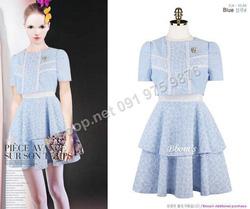 Ảnh số 34: B147 - Váy liền Hàn Quốc dáng xòe - Giá: 2.040.000