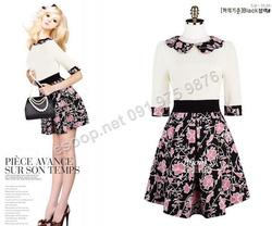 Ảnh số 32: B132 - Váy liền Hàn Quốc dáng xòe - Giá: 1.630.000