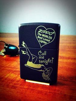 Ảnh số 17: Call Me Tonight Zippo Lighter - Giá: 650.000