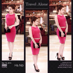 Ảnh số 33: Set áo croptop+ chân váy but chi:300k( đen, trắng, hồng - Giá: 300.000