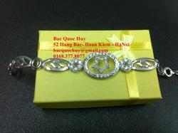 Ảnh số 76: Lắc tay bạc Si vàng trắng - Giá: 500.000