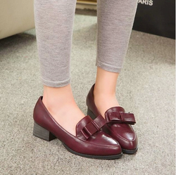 Ảnh số 98: Giày cao gót vintage nơ - Giá: 250.000