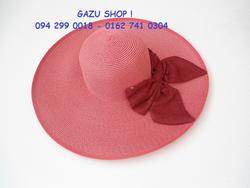 Ảnh số 59: mũ nơ 4 cánh hồng - Giá: 220.000
