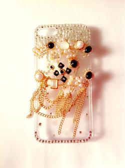 Ảnh số 16: ốp đá Chanel ngọc trai dây - Giá: 350.000