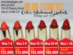 Ảnh số 88: Son MILANI Color Statement Lipstick - Giá: 95.000
