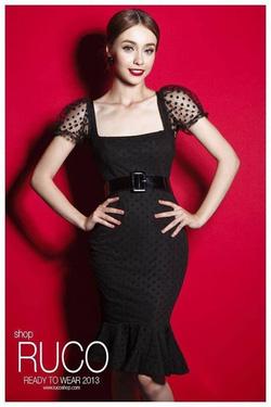 Ảnh số 10: Sét váy ren chấm bi - Giá: 480.000