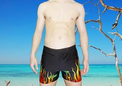 Ảnh số 6: Quần bơi họa tiết ngọn lửa độc đáo QB159 - Giá: 80.000