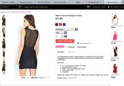 Ảnh số 96: Đầm thun ren f21 - Giá: 230.000