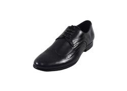 Ảnh số 4: Giày tây nam Zapatos da trơn đục lỗ màu đen (KT-500) - Giá: 999.000