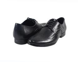 Ảnh số 5: Giày tây nam Zapatos da trơn đục lỗ màu đen (KT-500) - Giá: 999.000