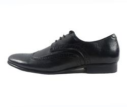 Ảnh số 6: Giày tây nam Zapatos da trơn đục lỗ màu đen (KT-500) - Giá: 999.000