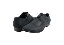 Ảnh số 8: Giày tây nam Zapatos da sáp đục lỗ màu đen (KT-500) - Giá: 899.000
