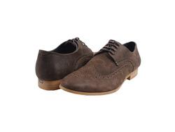 Ảnh số 11: Giày tây nam Zapatos da sáp đục lỗ màu nâu (KT-500) - Giá: 899.000