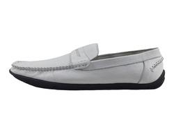 Ảnh số 15: Giày lười nam Zatoli màu trắng (XQ-08) - Giá: 599.000